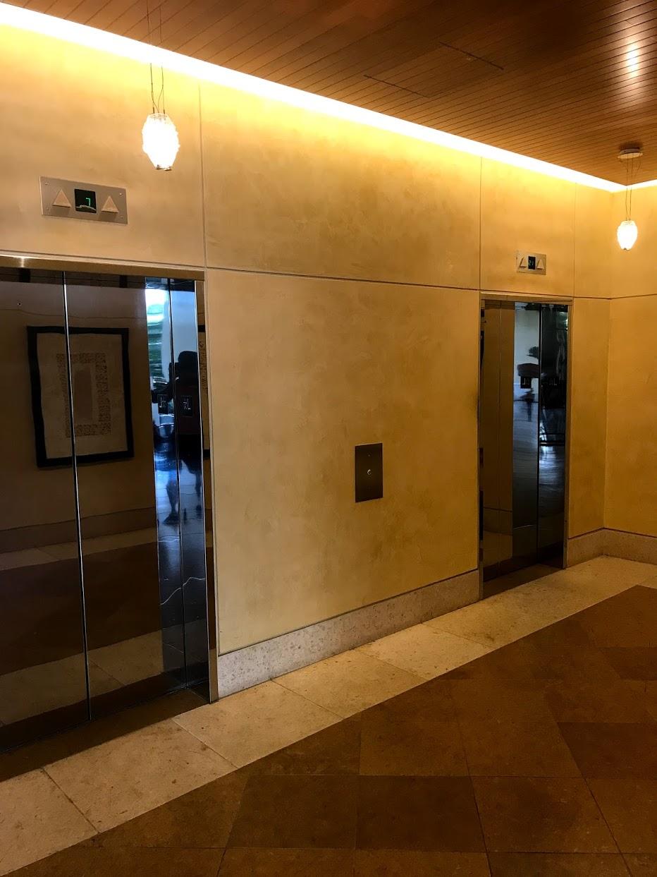 The-Watermarkのエレベーター