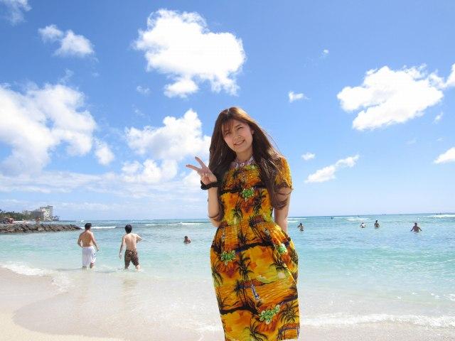 ハワイの美女69
