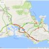 オバマ大統領がハワイ来て、ホノルルは大渋滞中です。2016/8/31