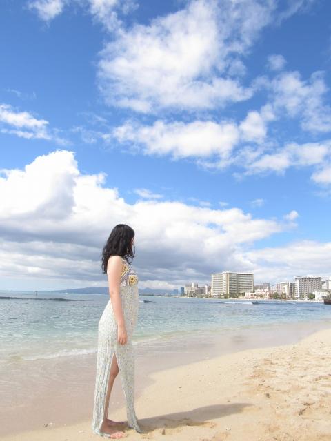 ハワイ美女HIKARU