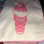 ホールフーズの可愛いピンクのソフトクリーム柄のエコバック登場!!