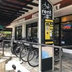 ハワイのSPINWAY自転車レンタル。返却はどこでもいいよ。