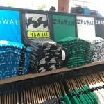 ハワイ限定ビラボンのTシャツはお土産にいいかも?