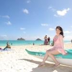 「ハワイ美女ウェンズデー」毎年ハワイリピーターのAikoさん。