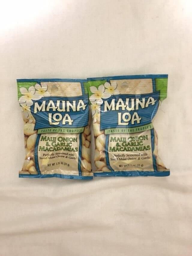 リコール対象のマウナロアのマカデミアナッツを購入してしまいました。