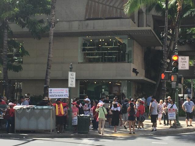 ハワイストライキ