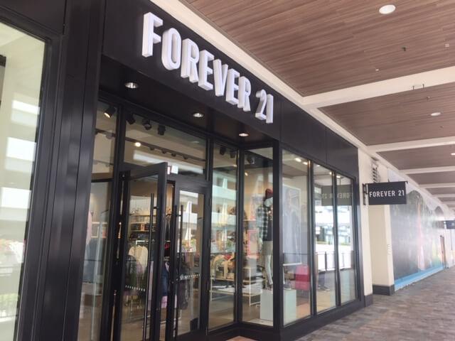 Forever21倒産