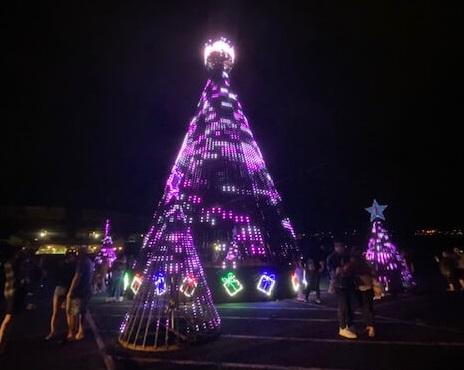 ハワイ、アロハスタジアムのクリスマス、ライトアップイベント #ShowAlohaLand
