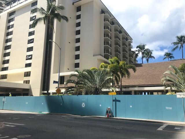 ハワイ、ハレクラニホテルが2021/10/1のリオープンに向けて着々と準備が進んでいるようです