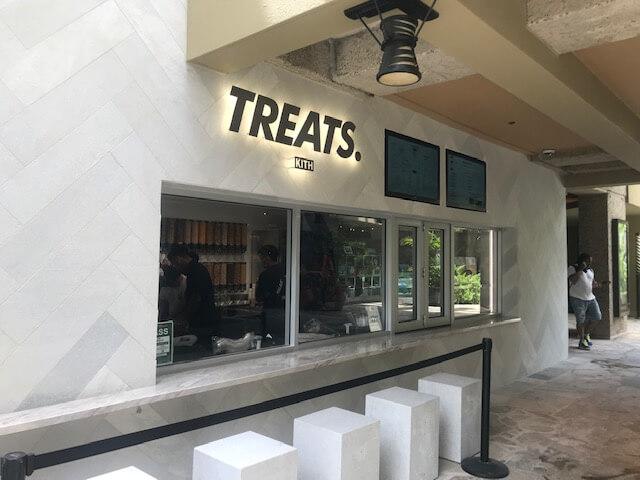 ハワイの「KITH(キス)」オープン。アイスクリーム屋さんもあるよ。