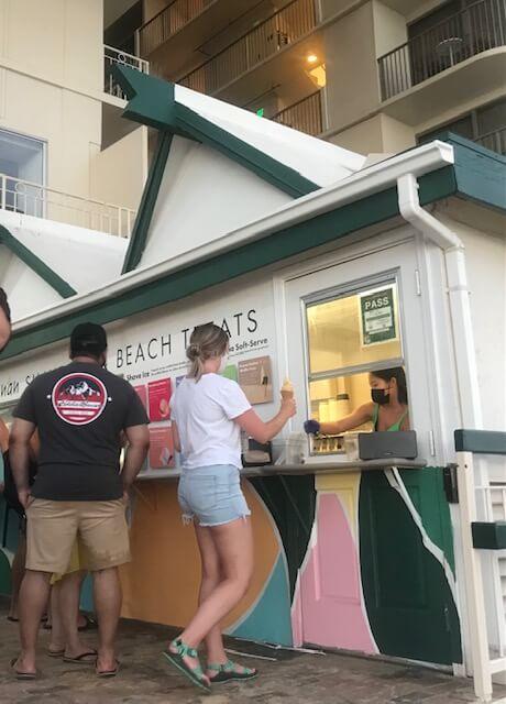 人気スイーツ屋さん「Banan(バナン)」 Waikiki Shoreにオープンしています