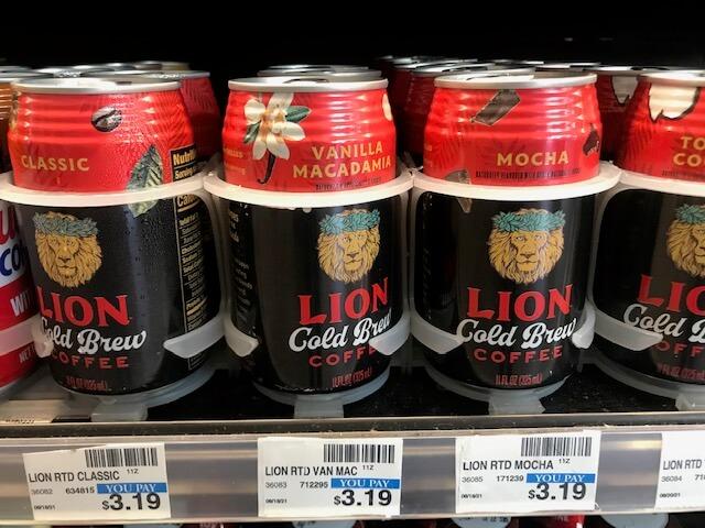 LIONコーヒー、コールドブリューコーヒーの缶が新登場