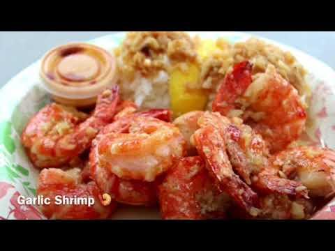 Hawaiianisches Essen Giovanni Shrimp