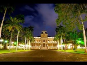 Iolani Palace in Hawaii auf Oahu – Hawaii Five-0 Hauptquartier