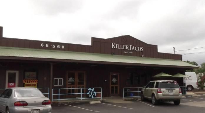 Killer Tacos in Haleiwa auf Oahu am North Shore in Hawaii