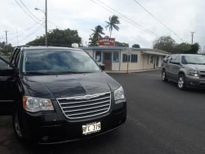 Hukilau Cafe Oahu 50 erste Dates Flim Kulisse