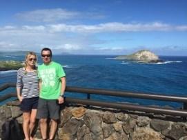 Makapuu Aussichtspunkt deutsche Oahu Inselrundfahrt