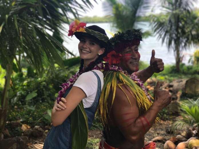 Betty Taube in Hawaii Tagebuch Tag 1 von 5 – Hawaiianische Show im Urwald