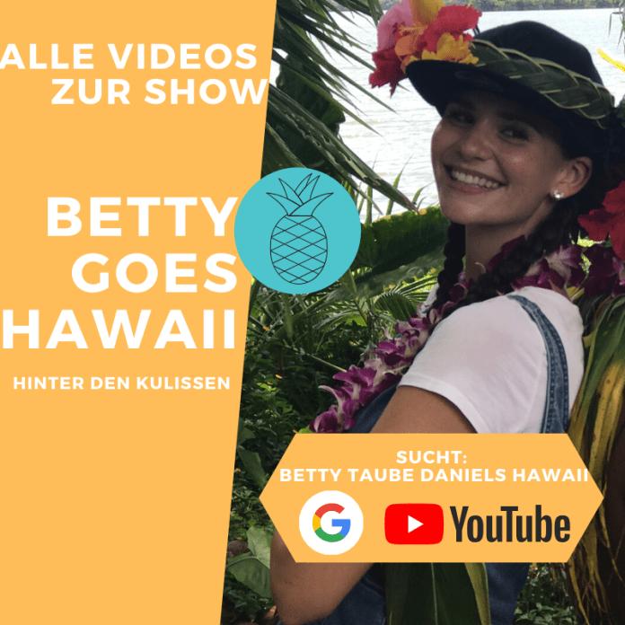Betty Taube in Hawaii - Betty Goes Hawaii