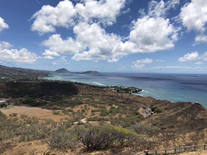 Diamond Head Vulkan Hawaii Aussicht