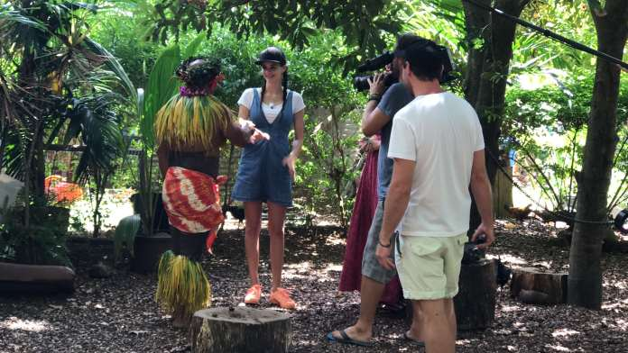 Betty Taube goes Hawaii