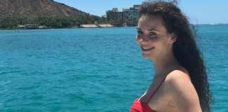Betty Goes Hawaii auf dem Boot