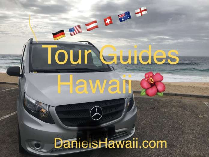 German Guide in Hawaii