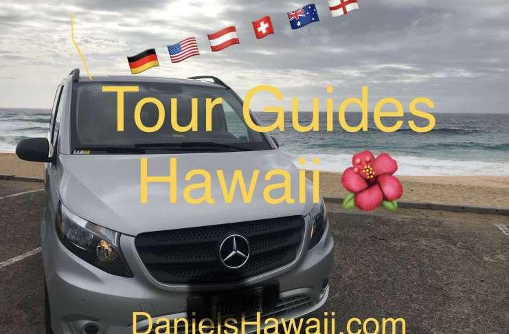German Guide in Hawaii