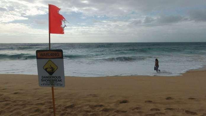 Gefährlichster Strand USA Hawaii