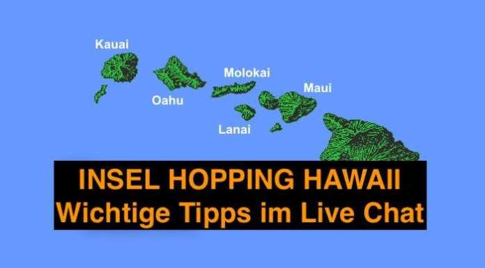Insel Hopping Hawaii