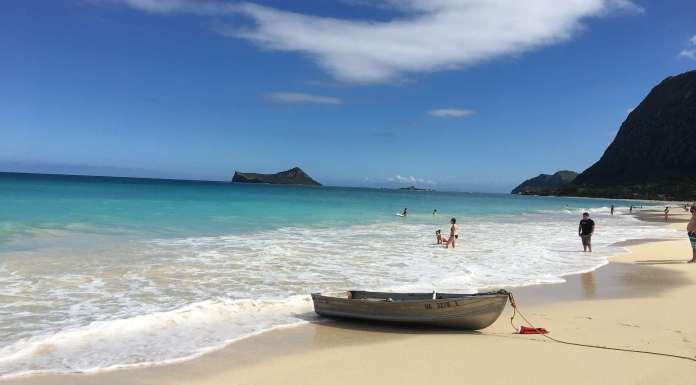 Waimanalo Strand in Hawaii