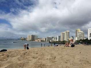 Blick auf Waikiki