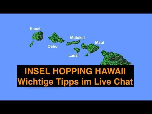 Insel Hopping im Hawaii Urlaub
