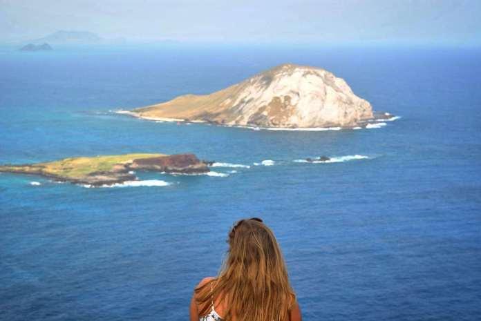 Einfache Wanderung in Hawaii