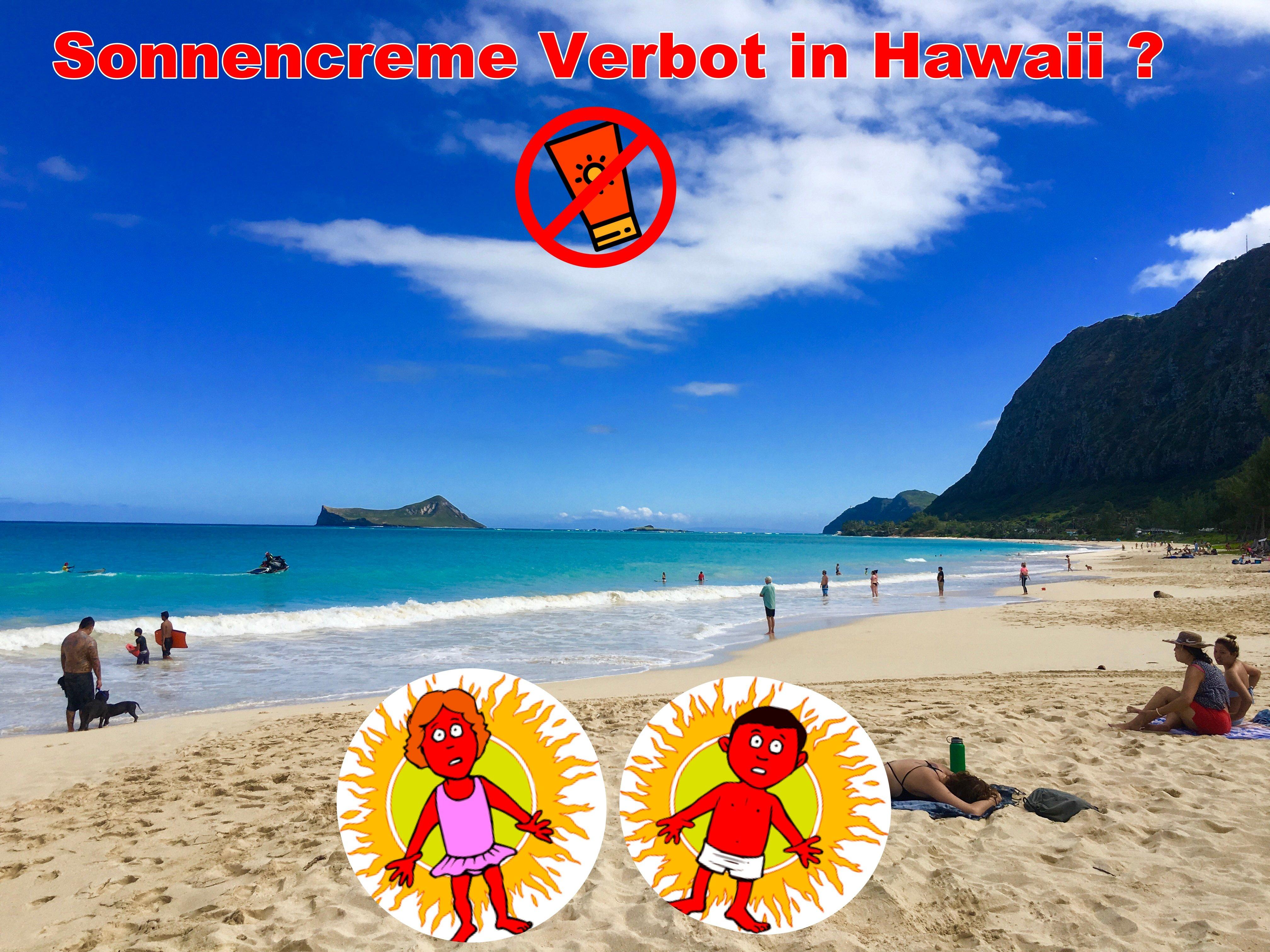 Frohe Weihnachten Hawaii.Sonnencreme Verbot In Hawaii Alle Wichtigen Informationen Zu Dem