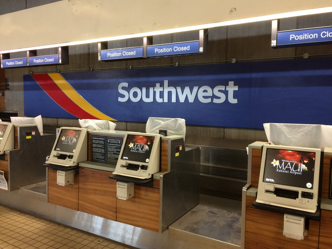 Southwest Airlines in Hawaii