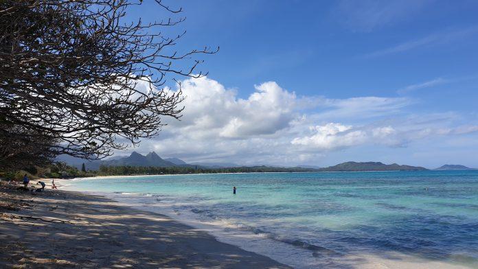 Familienfreundlicher Strand Oahu