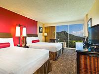 Aston Waikiki Beach Hotel varying view rooms
