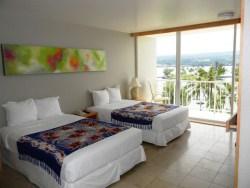 Hilo Naniloa Hotel scenic ocean view