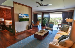 Mauna Lani Bay Hotel and Bungalows suites