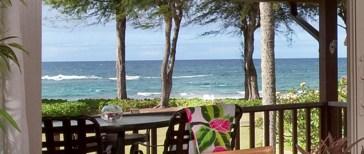 Oceanfront colony hanalei resort