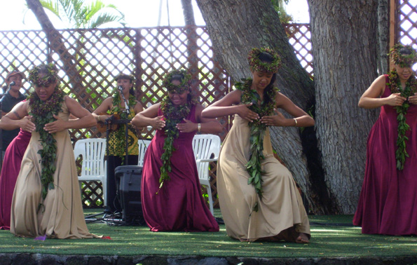 Aulani Halau is one of the featured groups Saturday at Waikoloa Bowl. (Photo special to Hawaii247.com)