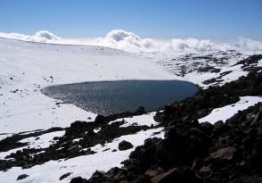 Lake Waiau on Mauna Kea. Hawaii 24/7 File Photo
