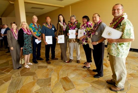 Big Island SBA Award Winners