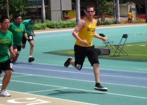Kona Speedsters in the track events.