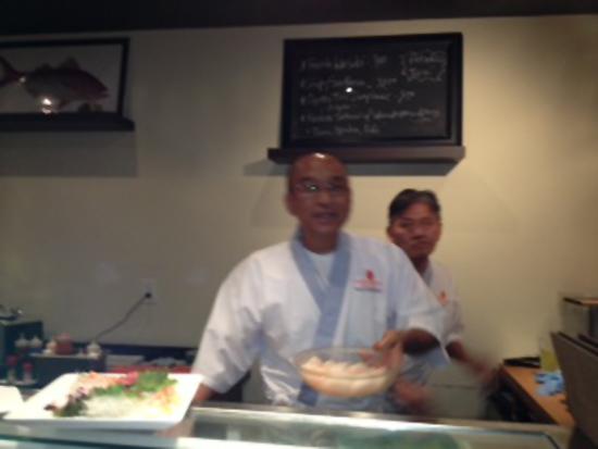 Chef Norio Yamamoto (Photo by Stephanie Carpenter)