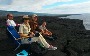 Volunteers count humpback whales at HVNP