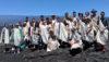 Hawaii Volcanoes National Park 2019 class of Youth Rangers. Photo courtesy NPS