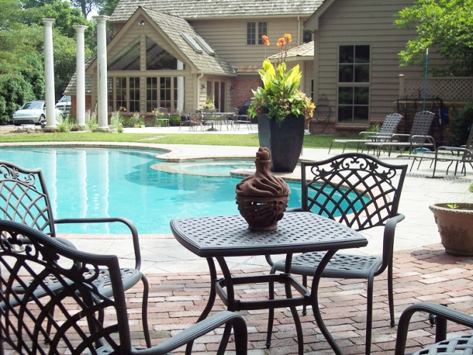 Residential - Pool with Seating Area