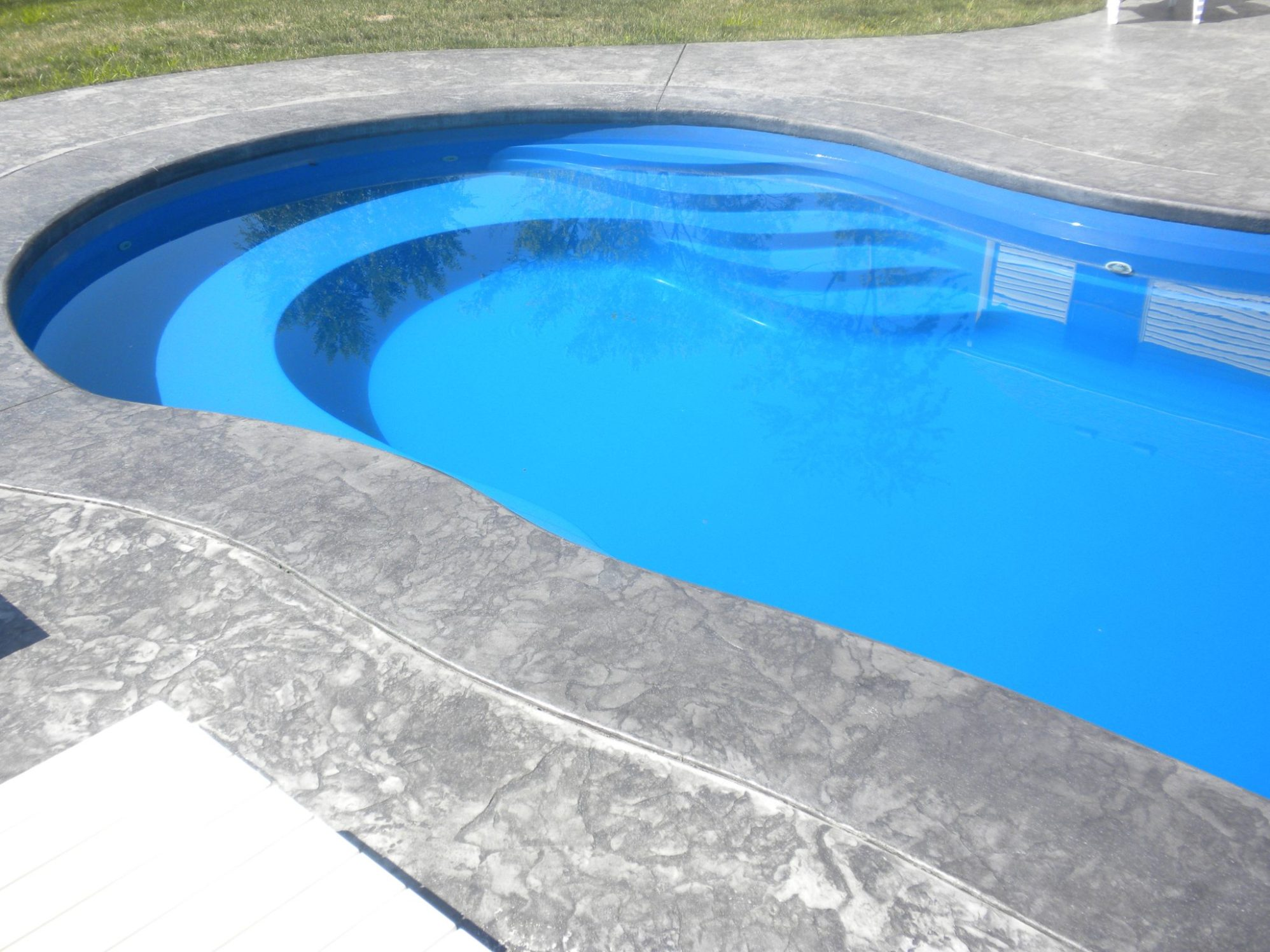 Curved Part of Pool
